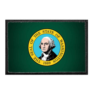 Washington State Flag - Color - Removable Patch