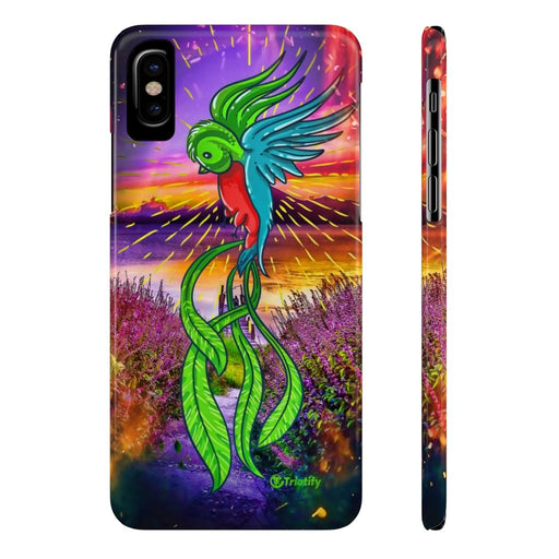Guatemala's National Bird, Quetzal -  Slim iPhone Case - Triotify, LLC