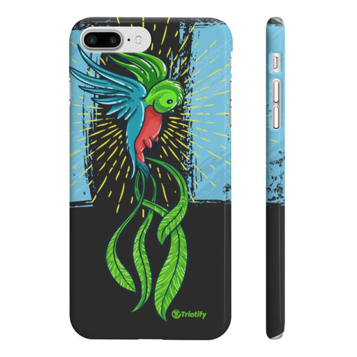 Beautiful Guatemalan Quetzal Slim Phone Cases | Limited Edition - Triotify, LLC