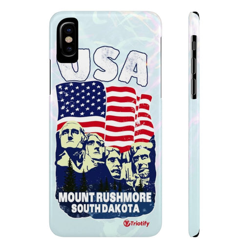 Mount Rush More, United Sates - Slim iPhone Case - Triotify, LLC