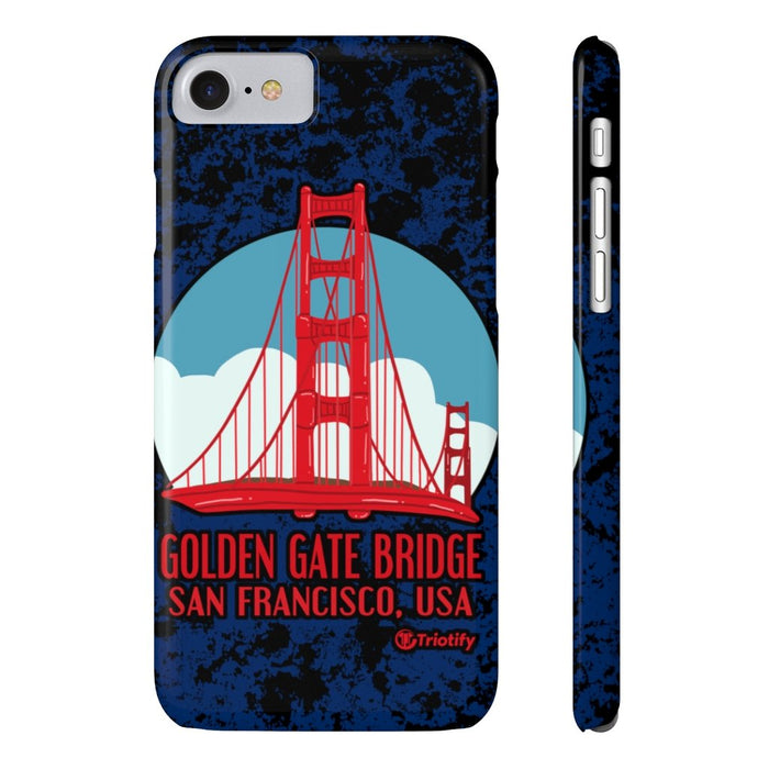Golden Gate Bridge, California - United States | Slim iPhone/Samsung Case - Triotify, LLC