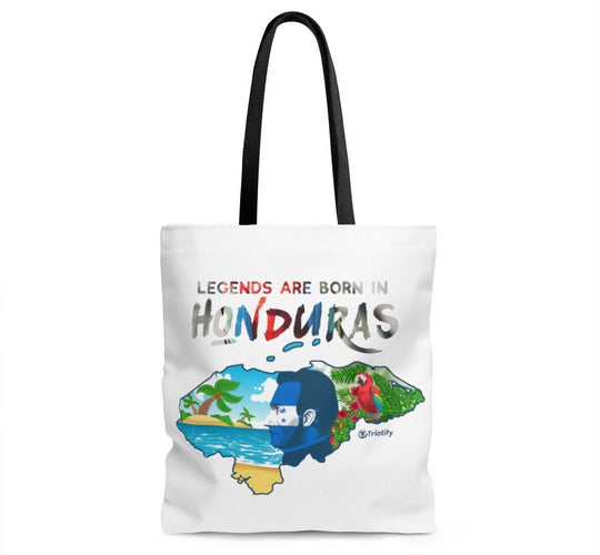 Legends Are Born in Honduras Tote Bag - Triotify