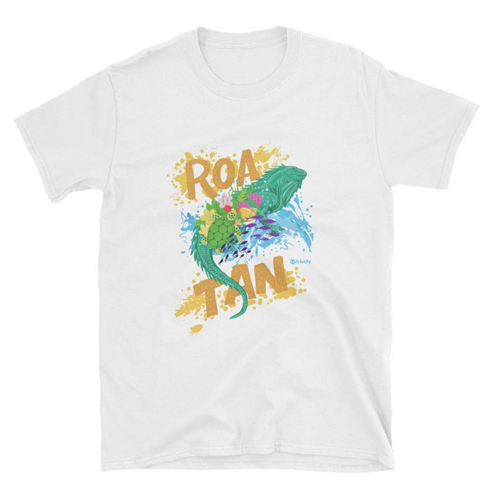 Hand Painted Spiny-tailed Roatan Iguana  | Unisex T-shirt - Triotify