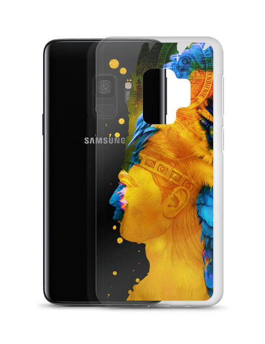 Transparent Chief Lempira Samsung Case - Triotify