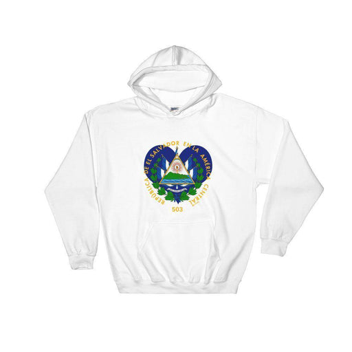 El Salvador Coat of Arms Hoodie - Triotify, LLC