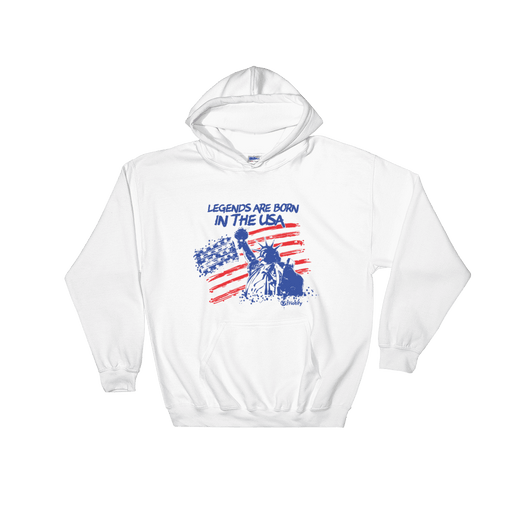 Legends Are Born In The USA Unisex Hoodie - Triotify, LLC