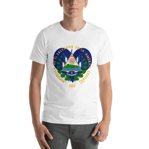 El Salvador Coat of Arms | T-shirt - Triotify, LLC