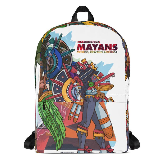 The MesoAmerica Mayan Empire | Backpack - Triotify, LLC