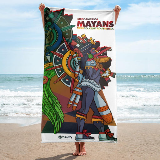 The Mayan Empire  Towel - Triotify