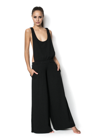 Black Boy Bye Ex-Boyfriend Tweed Jumpsuit