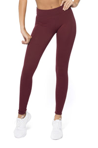 Dark Cherry Legging