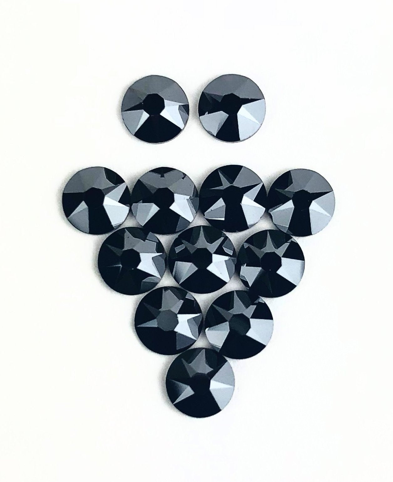 Jet Black Swarovski Crystal at Home Kit