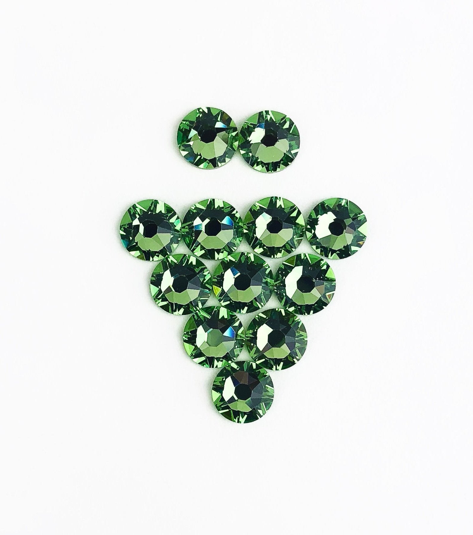Shmoney Green Swarovski Crystal at Home Kit
