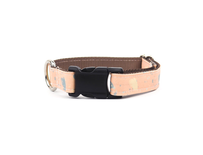 SPLATTERED CHAMPAGNE Canvas Collar