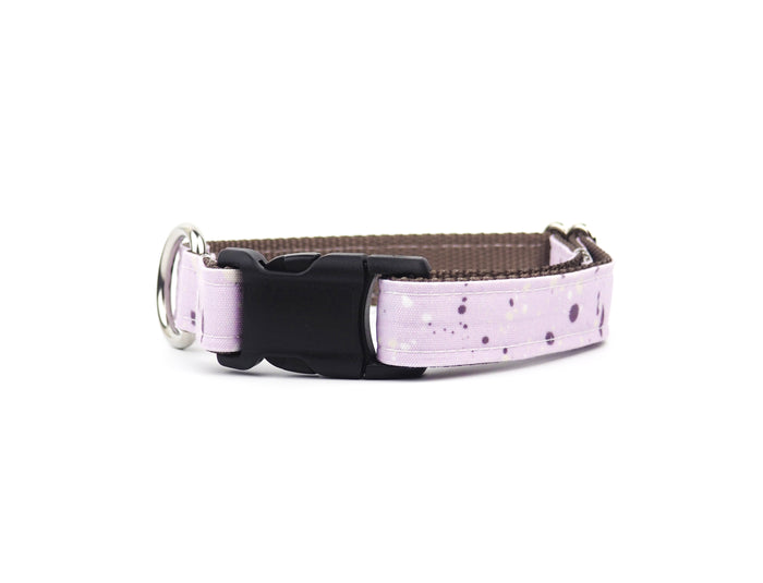 SPLATTERED LAVENDER Canvas Collar