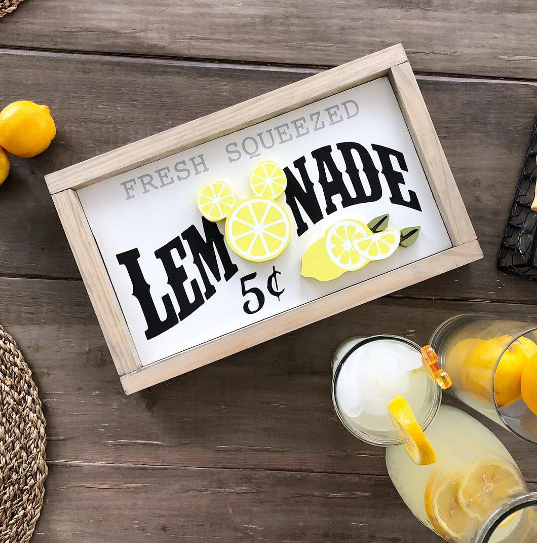 Lemonade PREORDER Sign