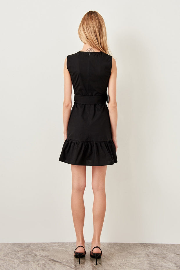 Arched Black Dress-MILLA-SULZ