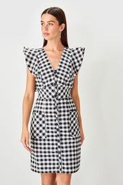 Black Plaids Dress-MILLA-SULZ