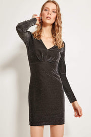Black Sparkle Dress-MILLA-SULZ
