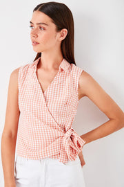 Powder Gusset Plaids Blouse-MILLA-SULZ