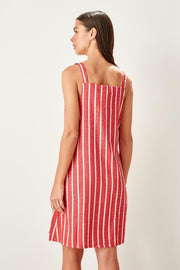 Red Striped Dress-MILLA-SULZ