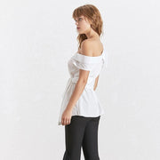 Sexy Off Shoulder Shirt-THE TWO TWINS-SULZ
