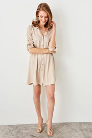 Stone Shirt Dress-MILLA-SULZ