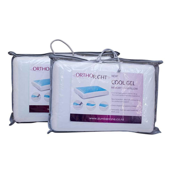 Ortho Right Cool Gel Pillow - Beds 4 u