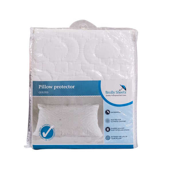 Brolly Quilted Pillow Protector - Beds 4 u
