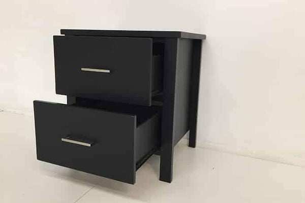 Monarch 2 Drawer Bedside - Beds 4 u