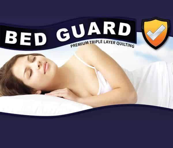Bed Guard Premium Quilted Mattress Protector - Beds 4 U
