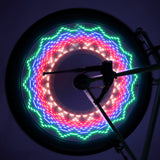 Cool 2 Sided 32 LED Waterproof  Reflective Rim Rainbow  Light