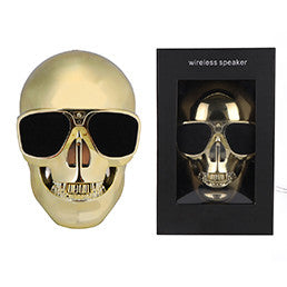 Unique Skull Portable Bluetooth  Wireless Skull Subwoofer