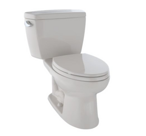 Drake® Two-Piece Toilet, 1.6 GPF, ADA Compliant, Elongated Bowl