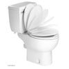 Saniplus Toilet Kit Includes Macerator Toilet Bowl and Toilet Tank For Full Bathrooms