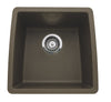 "Performa 17-1/2"" Single Bowl Granite Composite Sink in Silgranit"