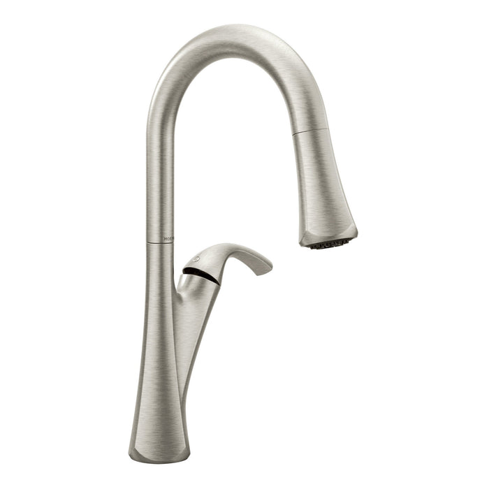 Notch One-Handle High Arc Pulldown Kitchen Faucet
