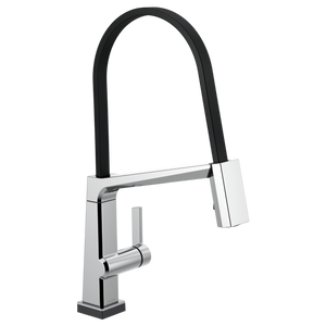 Pivotal Single-Handle Exposed Hose Touch Kitchen Sink Faucet with Pull Down Sprayer, Touch2O Technology and Magnetic Docking Spray Head