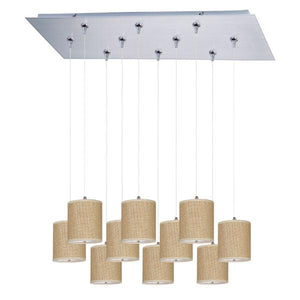 Elements 10-Light RapidJack Pendant and Canopy