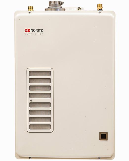 40 gal Tank Replacement Indoor Tankless Water Heater 6.6 GPM (Standard Vent)