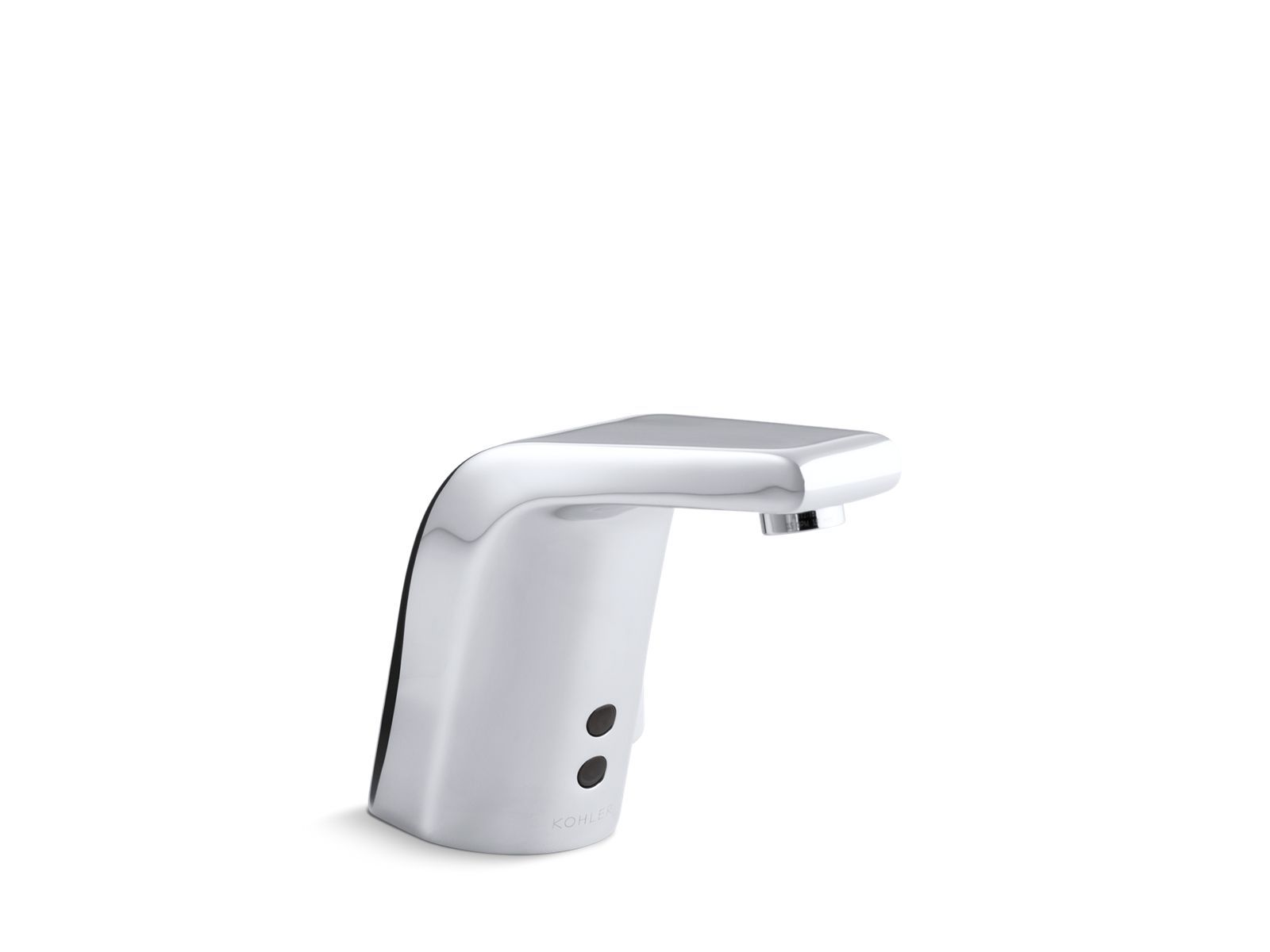 Sculpted Single-Hole Touchless AC-Powered Commercial Bathroom Sink Faucet with Insight Technology
