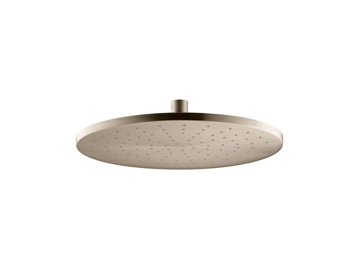 "12"" Contemporary Round 2.5 GPM Rainhead with Katalyst Air-Induction Technology"