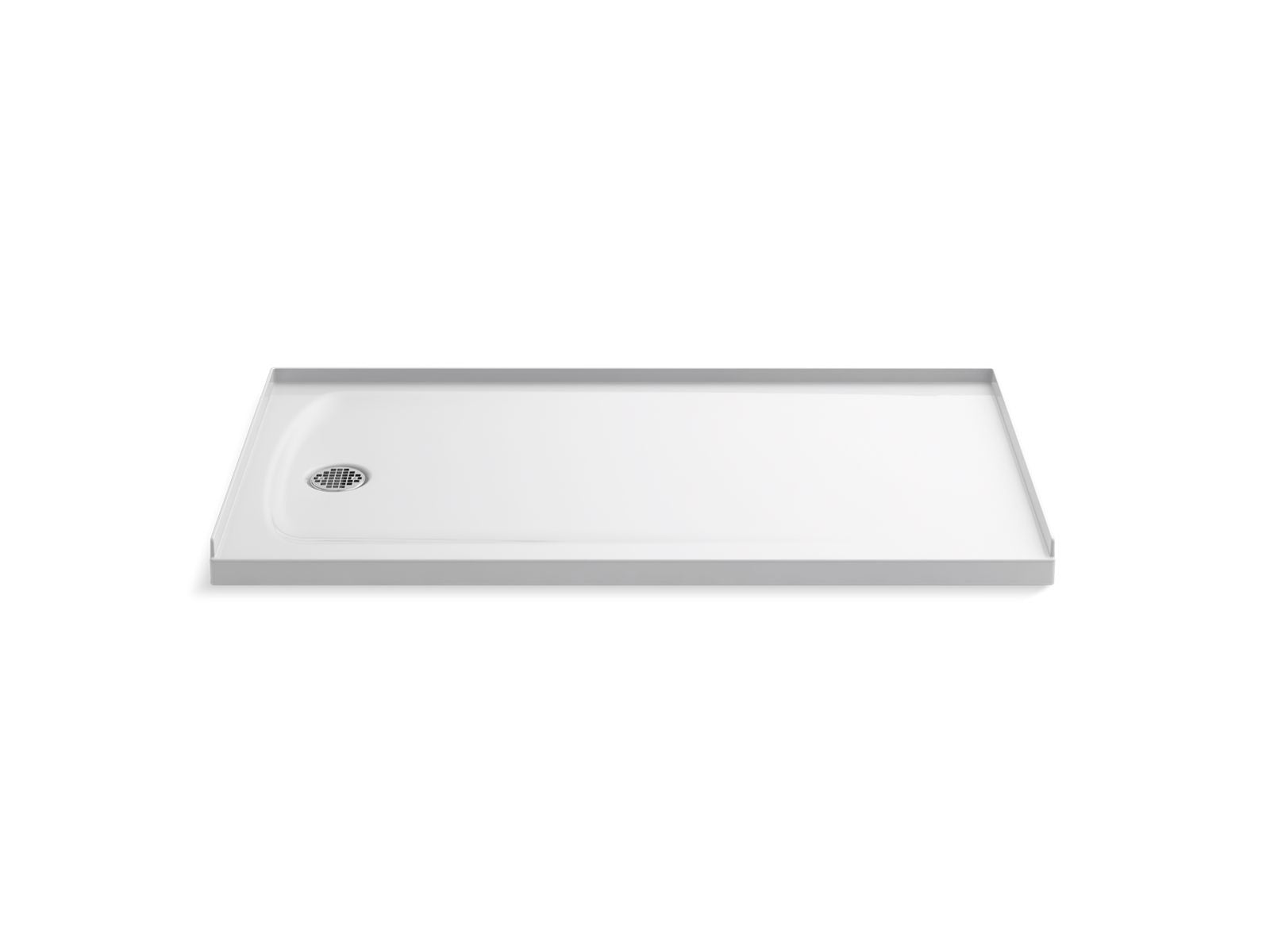 "Ballast 60"" x 32"" Shower Base with Left-Hand Drain"