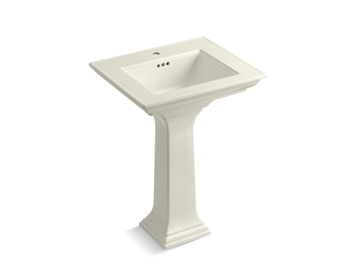 "Memoirs Stately 24"" Pedestal Bathroom Sink with Single Faucet Hole"