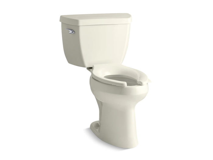 Highline® Classic Comfort Height® two-piece elongated 1.0 gpf toilet with Pressure Lite® flush technology and left-hand trip lever