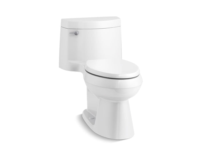 Cimarron® Comfort Height® one-piece elongated 1.28 gpf toilet with AquaPiston® flush technology, left-hand trip lever and concealed trapway