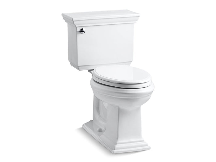 Memoirs® Stately Comfort Height® two-piece elongated 1.6 gpf toilet with AquaPiston® flush technology and left-hand trip lever