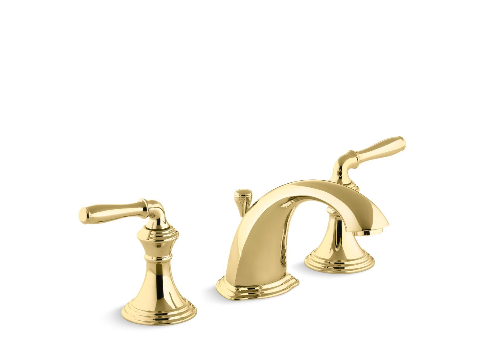 Devonshire Widespread Two Handle Bathroom Sink Faucet With Drain Assembly