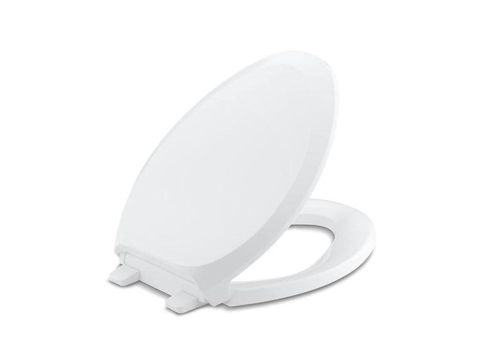 French Curve Elongated Toilet Seat