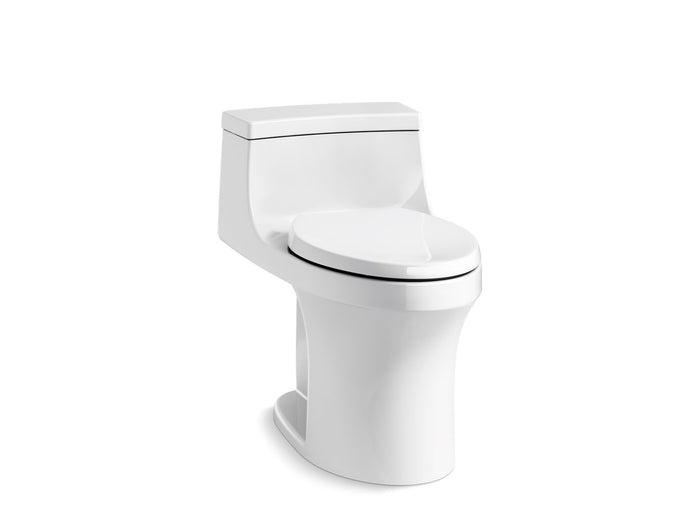 San Souci Comfort Height One-Piece Elongated-Front 1.28 GPF Toilet with AquaPiston Right Hand Lever